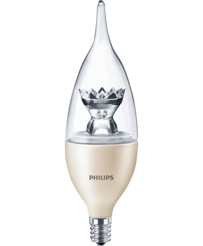 Philips 435164 Philips Diamond Spark E12-Base Decorative LED Bulb
