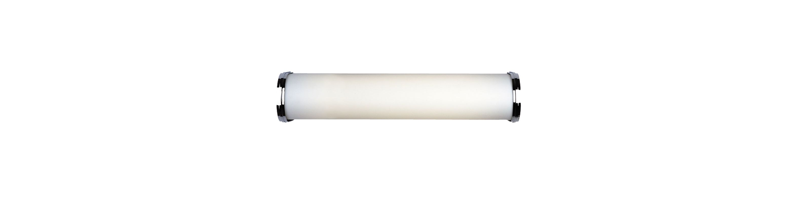 Philips F325336U Triple Bands 2 Light Bathroom Bath Bar Satin Nickel