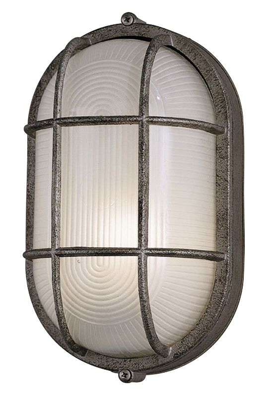 Philips F9079565NV Oceanview 1 Light Outdoor Wall Sconce Silver Rust Sale $50.00 ITEM#: 2360545 MODEL# :F9079565NV UPC#: 742546018391 :