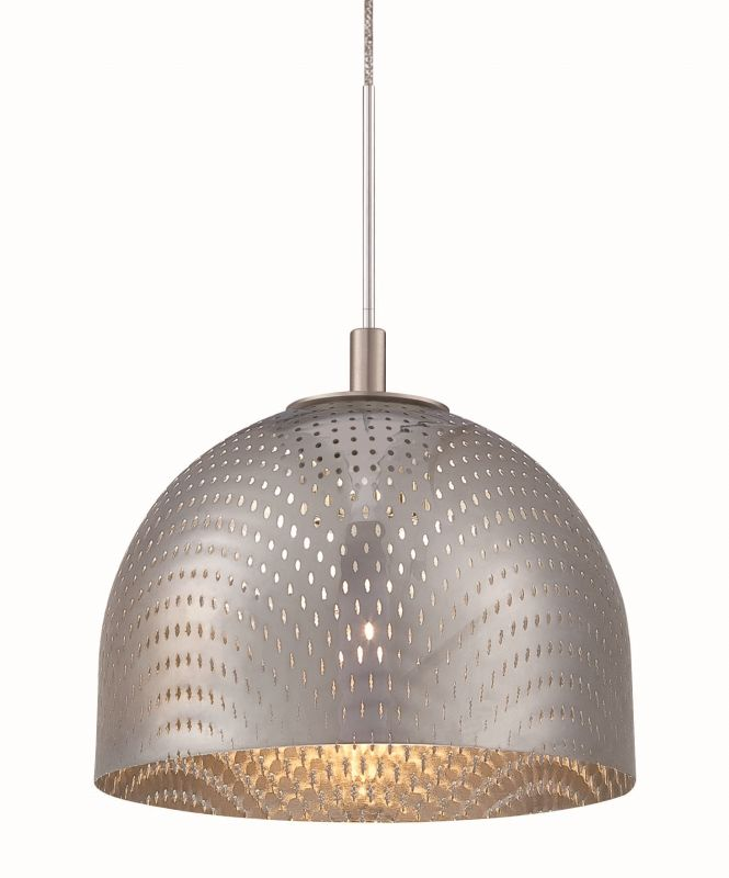 Philips FQ0060011 Mesh Perforated Metal Shade in Chrome Finish Chrome