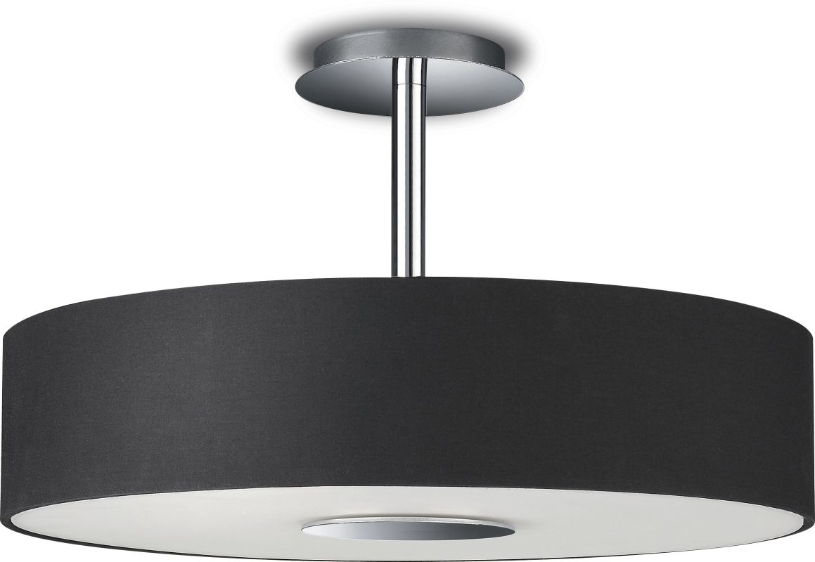 Philips 37481 3 Light Semi-Flush Mount Ceiling Light from the