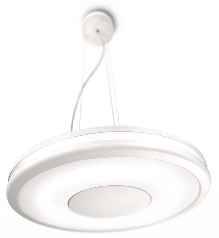 Philips 40342 1 Light Fluorescent Down Light Pendant from the Ecomoods