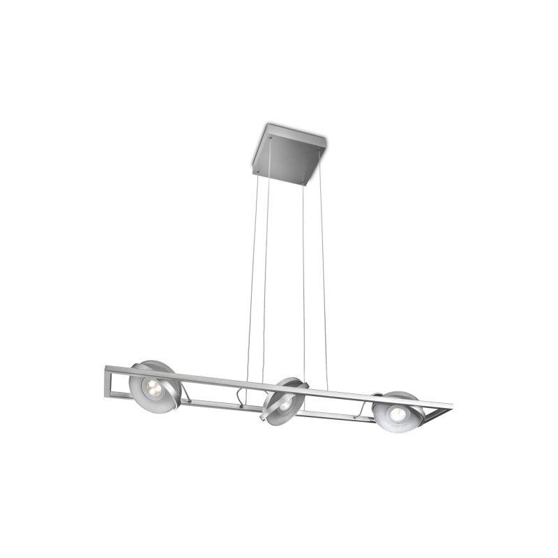 Philips 53159 Ledino 3 Light LED Chandelier Aluminum Indoor Lighting