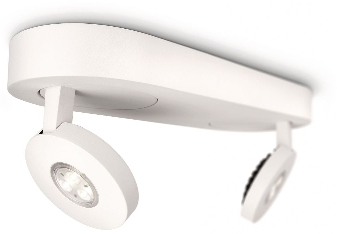 Philips 57912 2 Light LED Spot Light from the Ledino Collection White