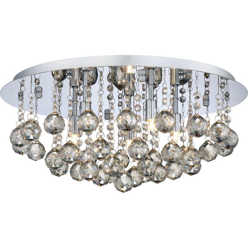 """Platinum BRXA1619 Bordeaux 5 Light 20"""" Wide Flush Mount Ceiling"""