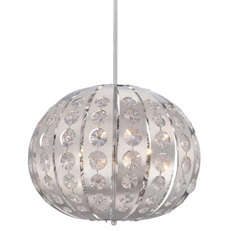 Platinum PCAR2818 Aura 4 Light Pendant Polished Chrome Indoor Lighting