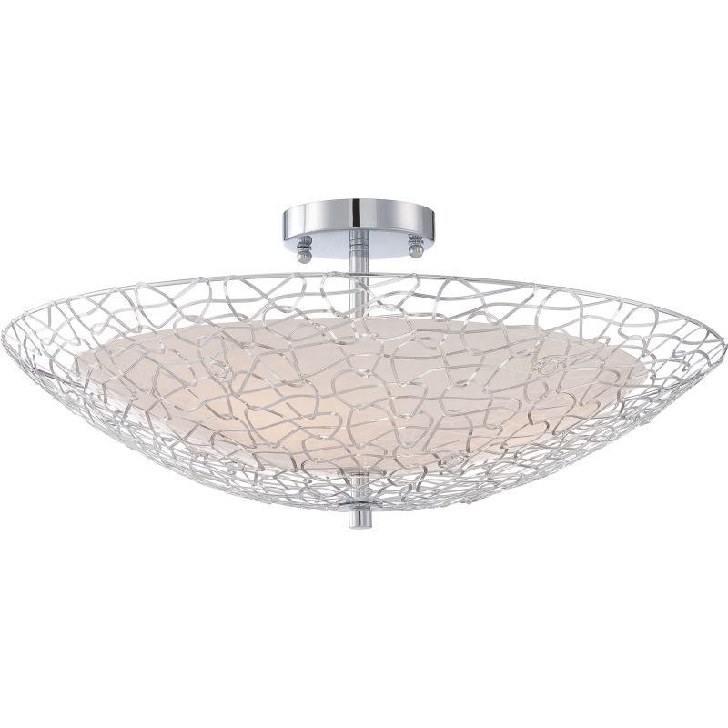 Platinum PCAY1722 Array 3 Light Semi-Flush Ceiling Fixture Polished Sale $329.99 ITEM#: 2628819 MODEL# :PCAY1722C UPC#: 611728210352 :