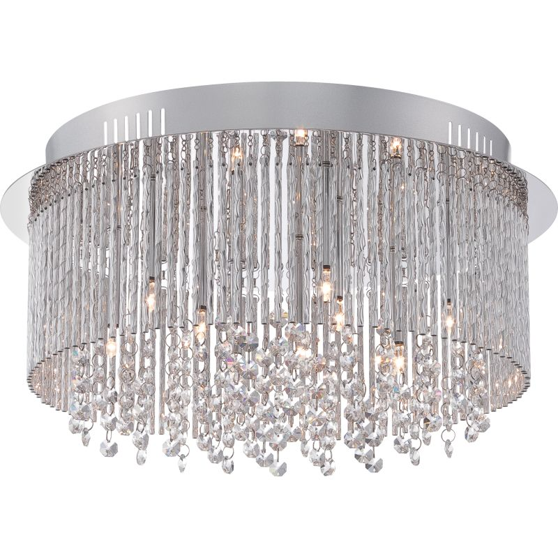 Platinum PCCT1616 Countess 9 Light Flush Mount Ceiling Fixture Sale $379.99 ITEM#: 2628826 MODEL# :PCCT1616C UPC#: 611728210369 :
