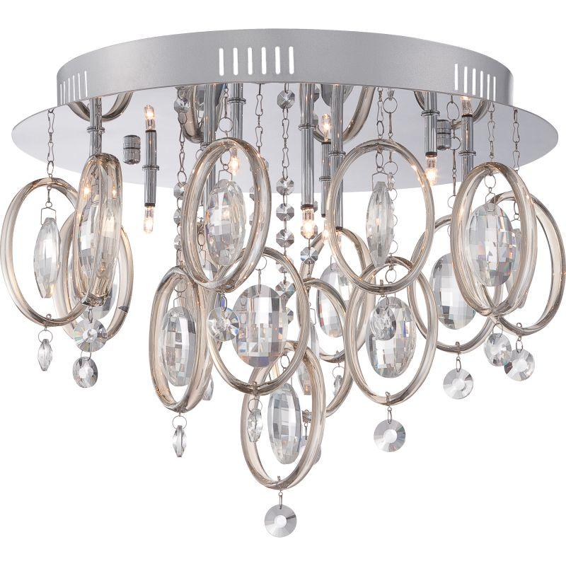 Platinum PCEL1616 Ella 9 Light Flush Mount Ceiling Fixture Polished Sale $399.99 ITEM#: 2628830 MODEL# :PCEL1616C UPC#: 611728210383 :