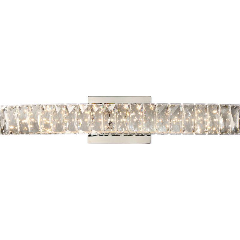 "Platinum PCGA8524 Gala LED 24"" Wide Bathroom Vanity Lights with Clear Sale $269.99 ITEM#: 2928052 MODEL# :PCGA8524C UPC#: 611728265031 :"