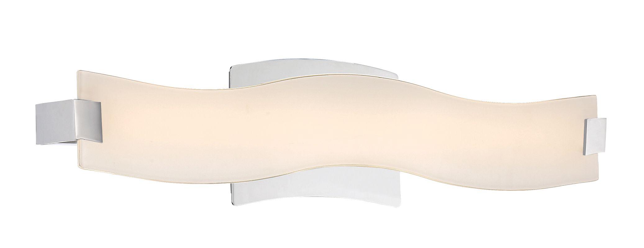 "Platinum PCGD8522 Glider Single Light 22"" Wide LED Bath Bar - ADA Sale $169.99 ITEM#: 3006677 MODEL# :PCGD8522C UPC#: 611728271209 :"