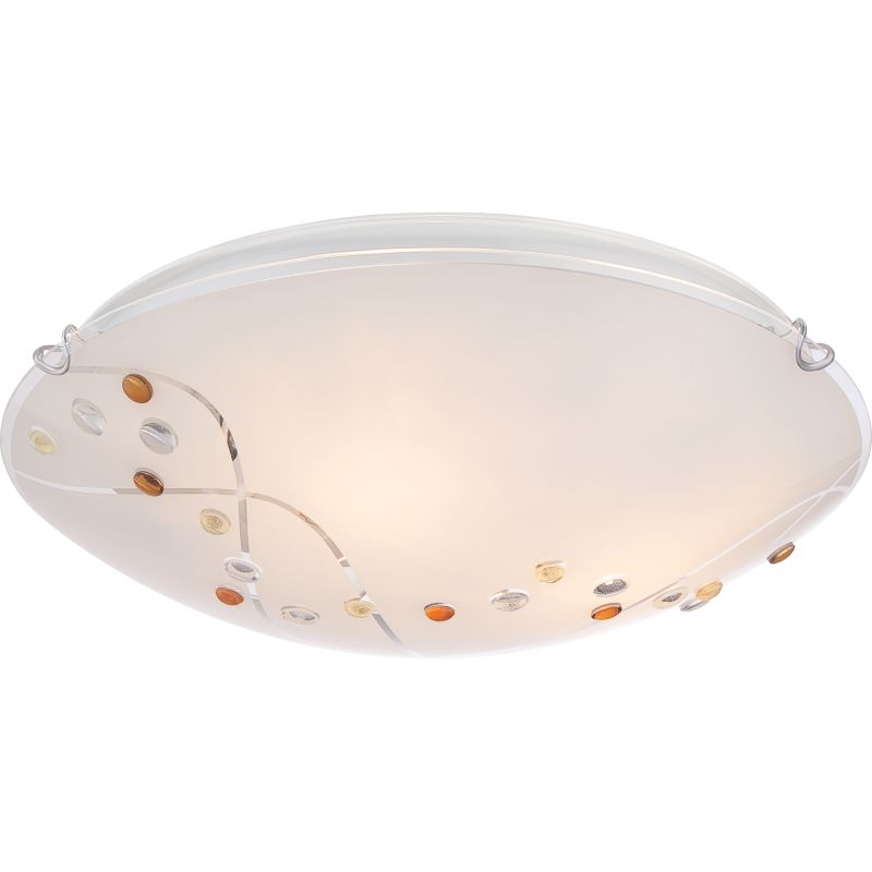 "Platinum PCSL1616 Stellar 3 Light 16"" Wide Flush Mount Ceiling Fixture Sale $94.99 ITEM#: 2576139 MODEL# :PCSL1616C UPC#: 611728209035 :"