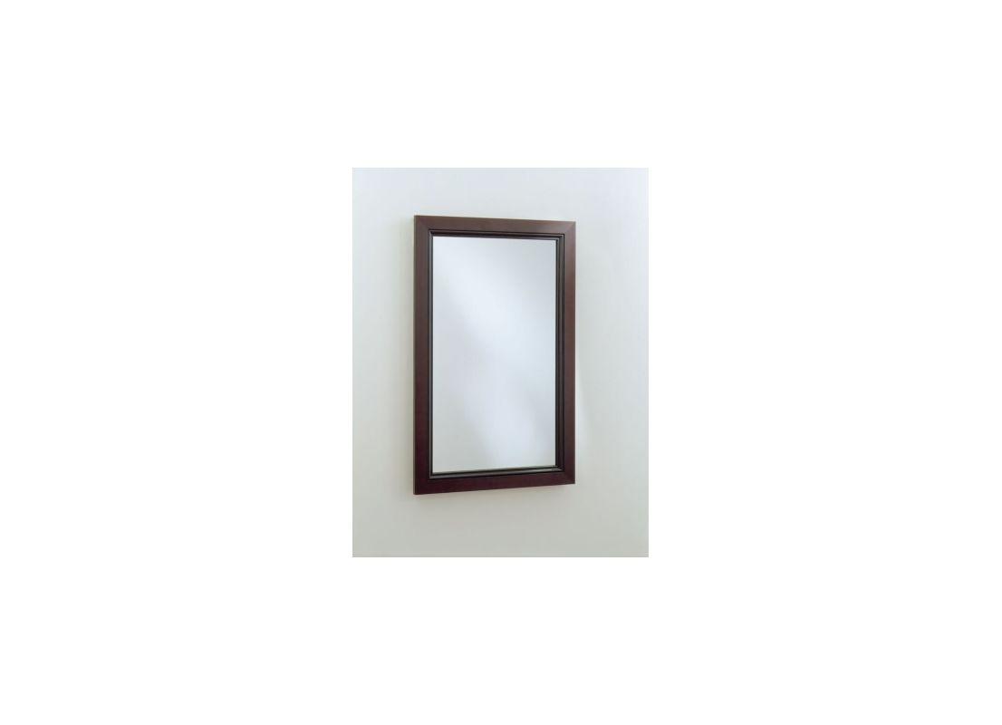 """Robern PLWM20 15-1/4""""W X 30""""H PL Series Flat Plain Wall Mirror Beaded"""