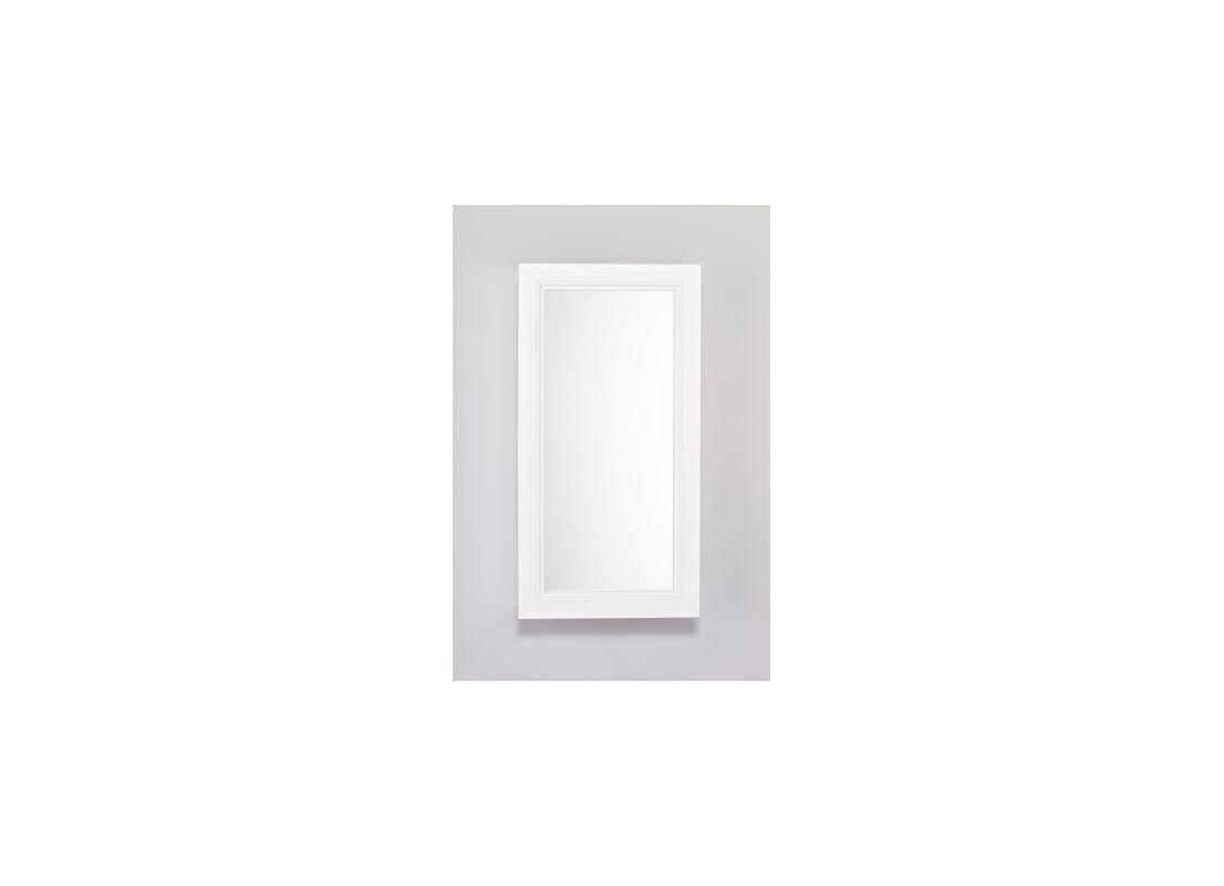 """Robern PLWM20 15-1/4""""W X 30""""H PL Series Flat Plain Wall Mirror Pure"""