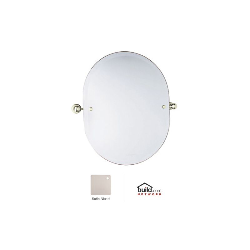 """Rohl U.6982 Perrin and Rowe 23"""" Oval Mirror with Pivoting Mounting"""