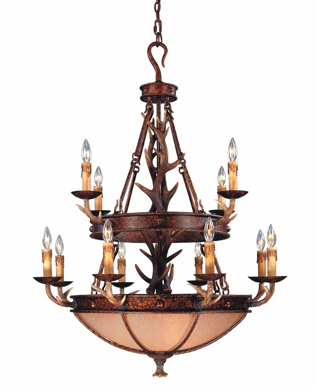 Savoy House 1-40004-12 16 Light Up / Down Lighting Chandelier from the
