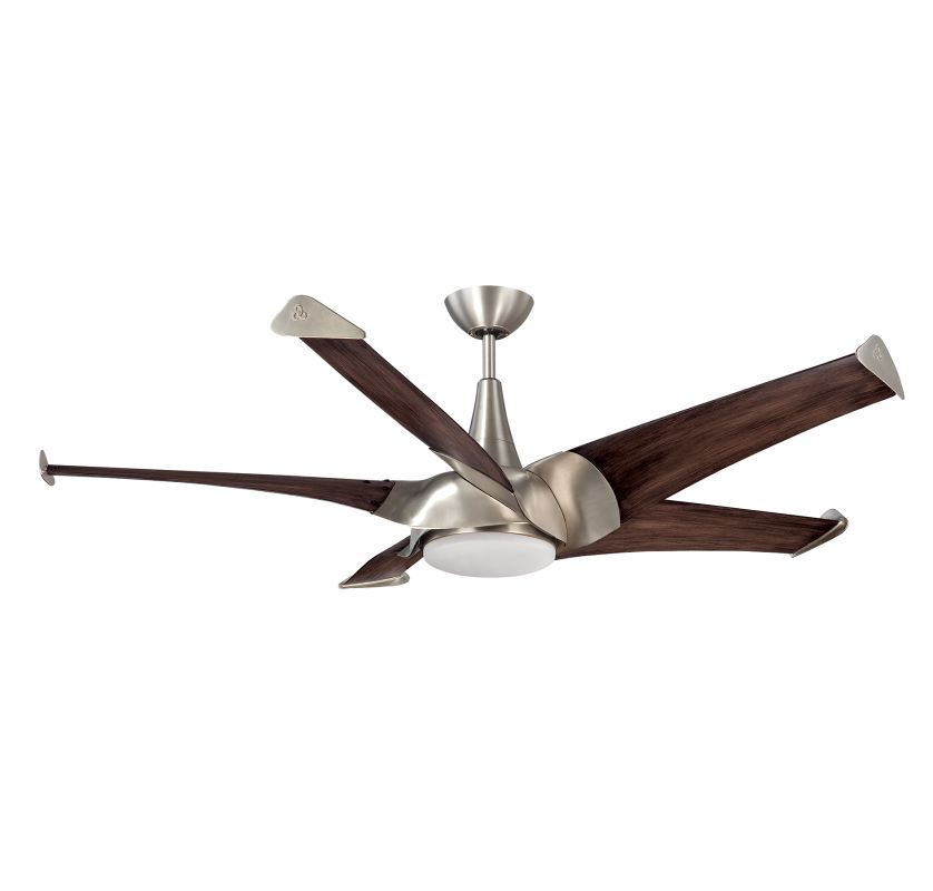 Savoy House 58-818-5 Ariel 5 Blade 1 Light Hanging Ceiling Fan with
