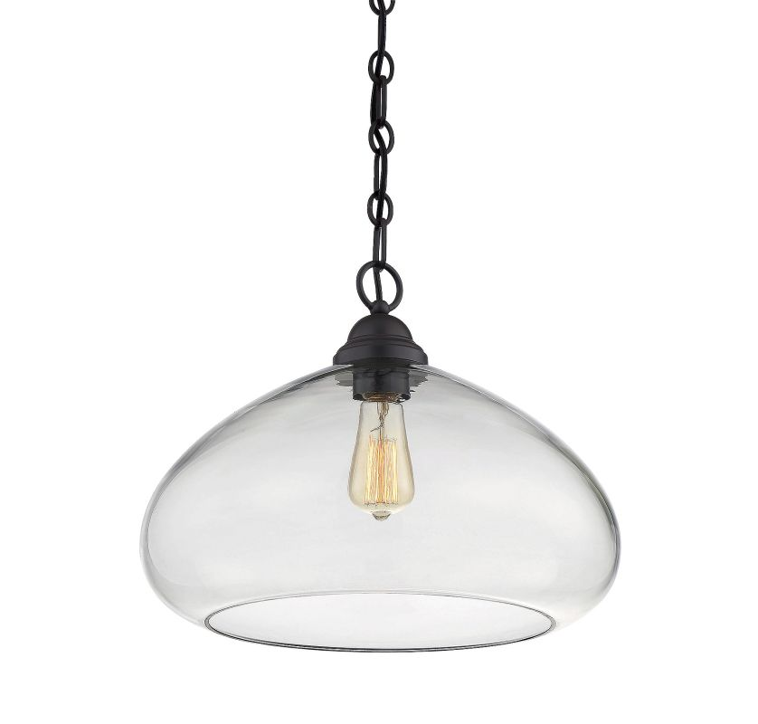Savoy House 1-2070-1 Shane 1 Light Pendant English Bronze Indoor