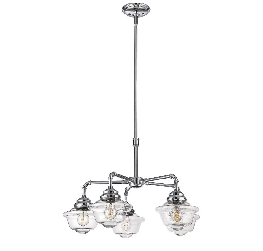 Savoy House 1-391-5 Fairfield 5 Light Chandelier Chrome Indoor