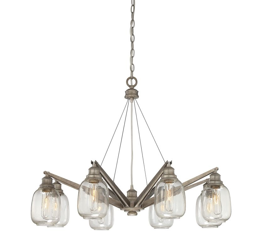 """Savoy House 1-4331-8 Orsay 8 Light 34"""" Wide 1 Tier Chandelier"""