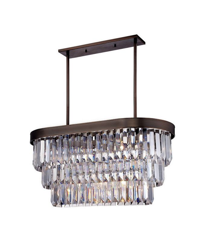 """Savoy House 1-9807-4 Tierney 4 Light 32"""" Wide 2 Tier Chandelier with"""