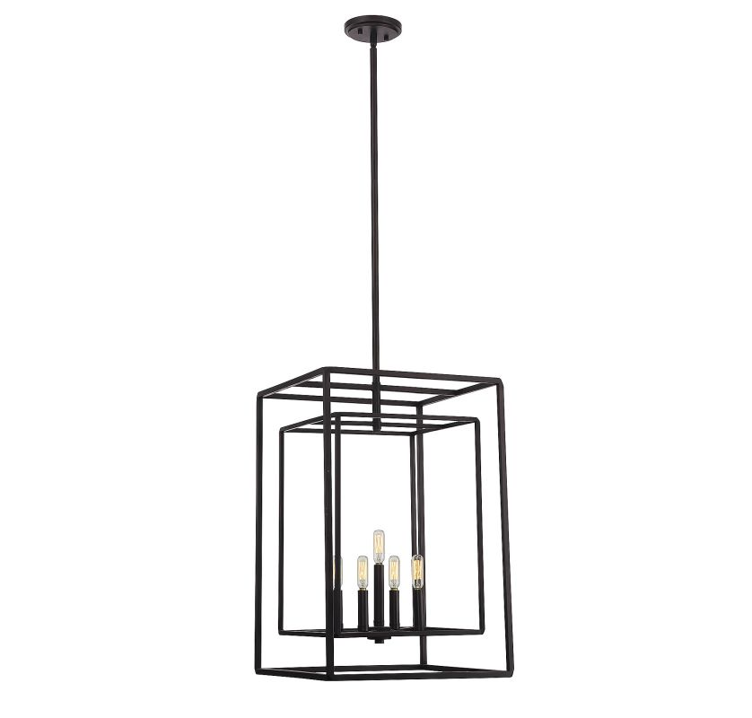 Savoy House 3-822-5 Berlin 5 Light Pendant English Bronze Indoor