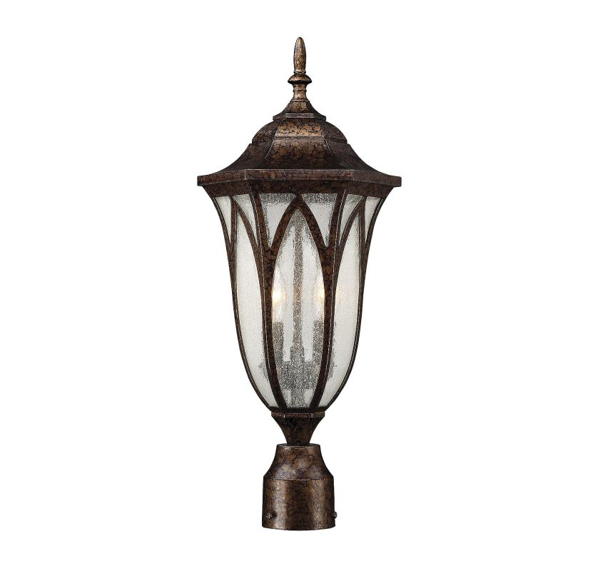 Savoy House 5-1243 Dayton 2 Light Outdoor Post Light New Tortoise
