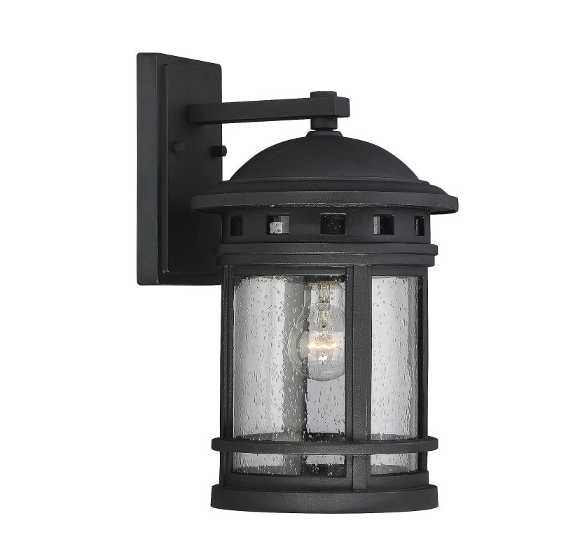 Savoy House 5-361 Upton 1 Light Outdoor Wall Sconce Black Outdoor