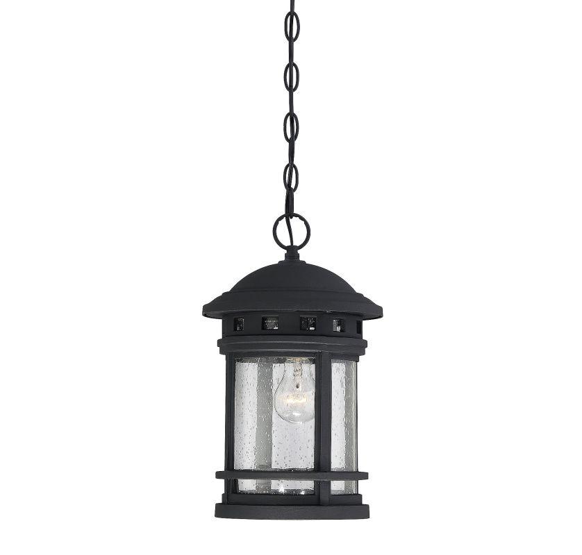 Savoy House 5-362 Upton 1 Light Outdoor Pendant Black Outdoor Lighting