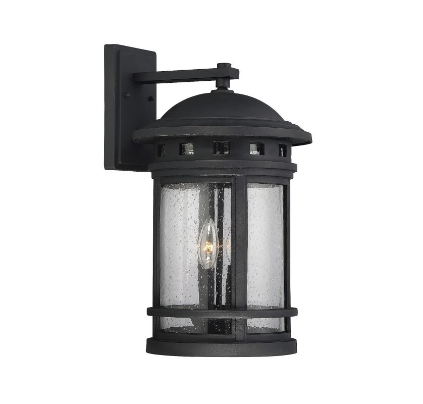 Savoy House 5-364 Upton 2 Light Outdoor Wall Sconce Black Outdoor