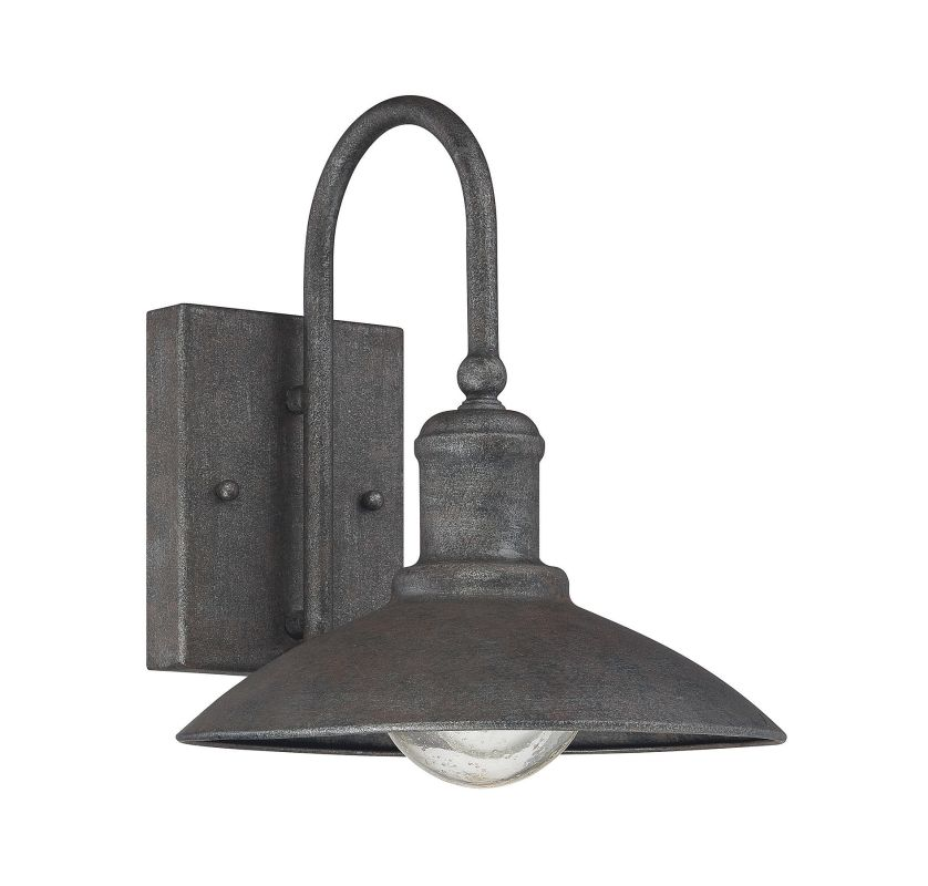 "Savoy House 5-5030-1 Mica 1 Light 10"" Tall Outdoor Wall Sconce Artisan"
