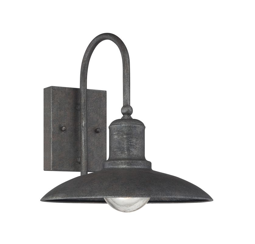 "Savoy House 5-5031-1 Mica 1 Light 11"" Tall Outdoor Wall Sconce Artisan"