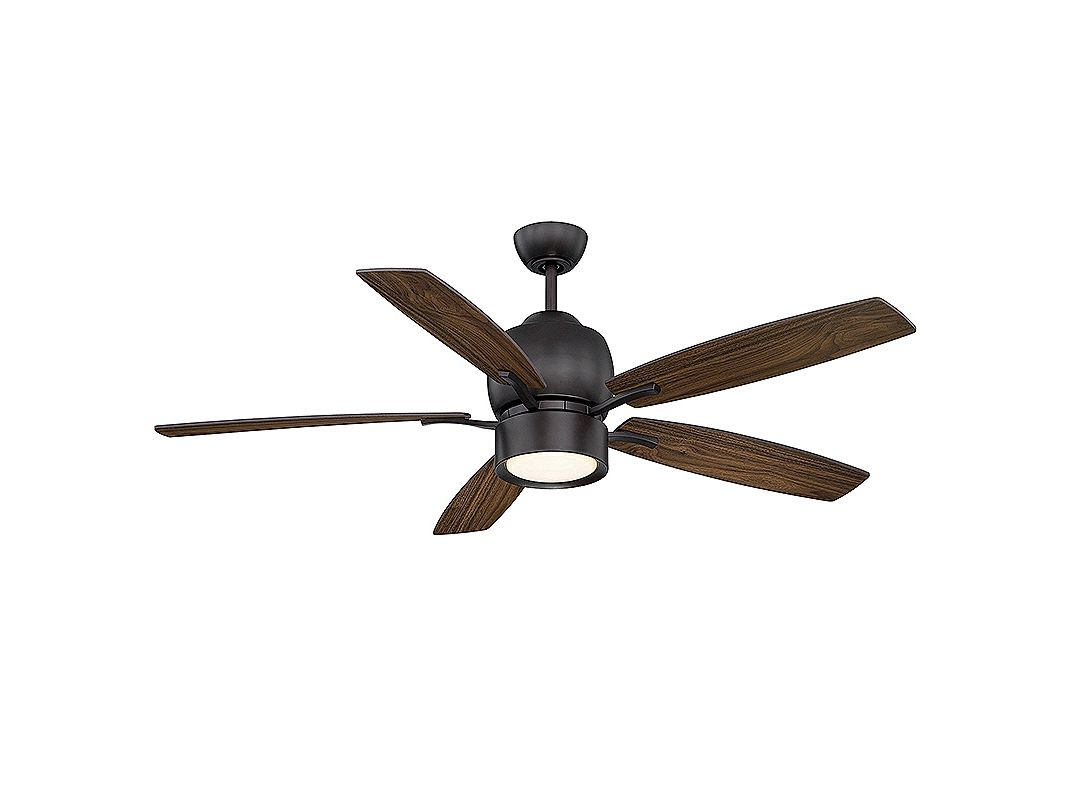 "Savoy House 52-120-5 Girard 52"" Indoor Ceiling Fan - 5 Blades Fan and"