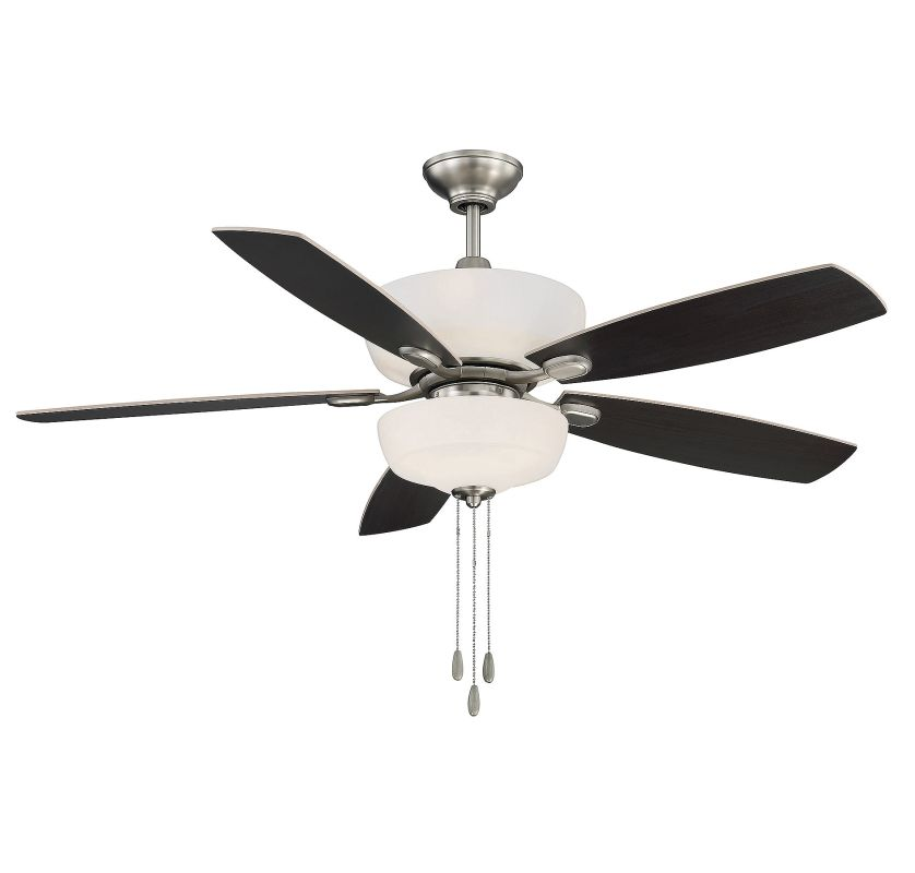 "Savoy House 52-140-5 Sheffield 52"" Indoor Ceiling Fan - 5 Blades and"