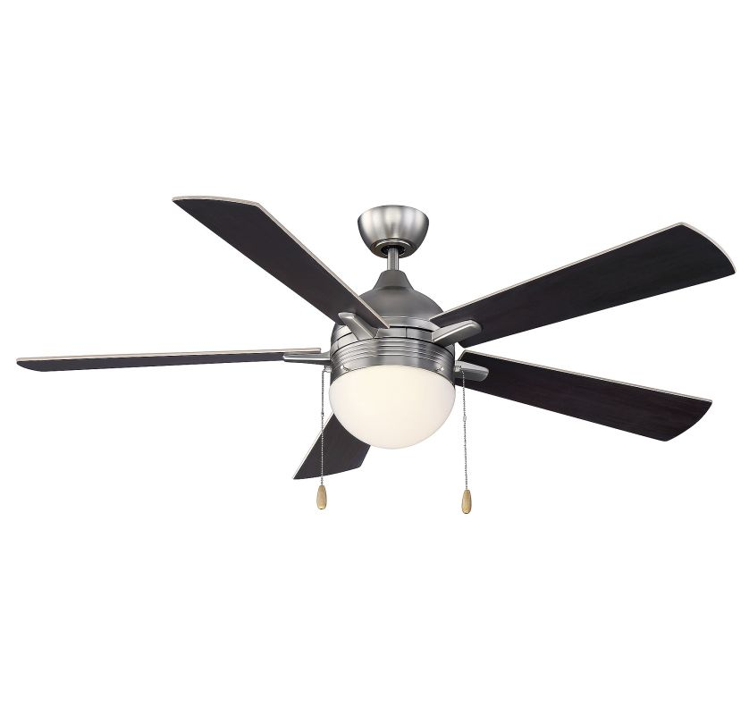 "Savoy House 52-150-5 Juneau 52"" Indoor Ceiling Fan - 5 Blades and"