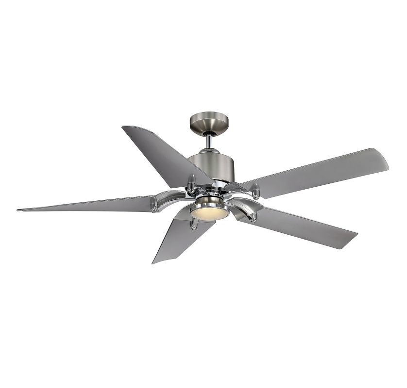 "Savoy House 52-200-5 52"" Wasp Indoor Ceiling Fan - 5 Blades and LED"