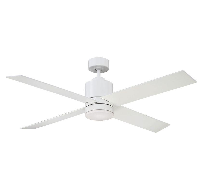 "Savoy House 52-6110-4WH Dayton 52"" Span 4 Blade Hanging Indoor Ceiling"