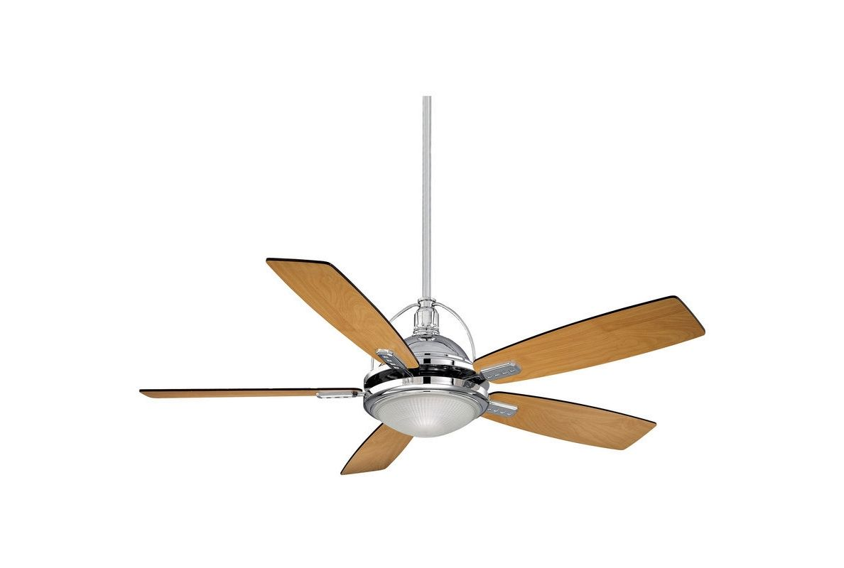 "Savoy House 54-220-5 Shasta 54"" Span 5 Blade Indoor Ceiling Fan with"