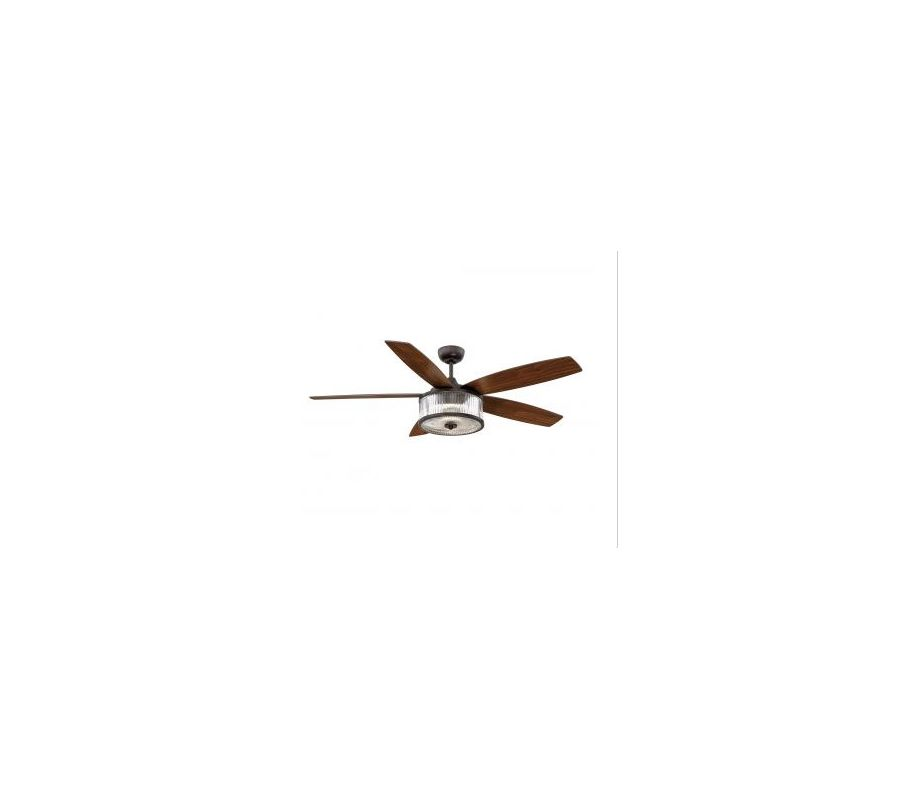 "Savoy House 56-180-5W 56"" Phoebe Indoor Ceiling Fan - 5 Blades and LED"