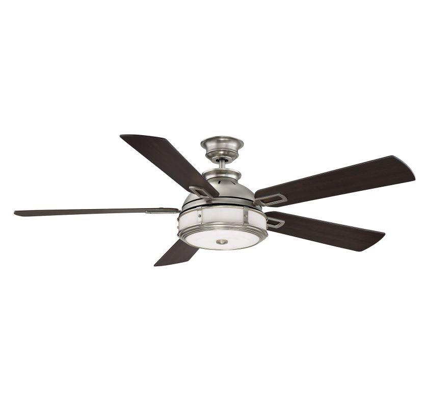 "Savoy House 56-5000-5CN Del Rio 56"" Span 5 Blade Hugger Indoor Ceiling"