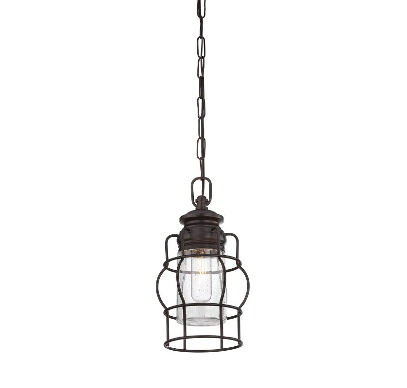 "Savoy House 7-5061-1 Vintage Pendant 1 Light 6.75"" Wide Pendant"