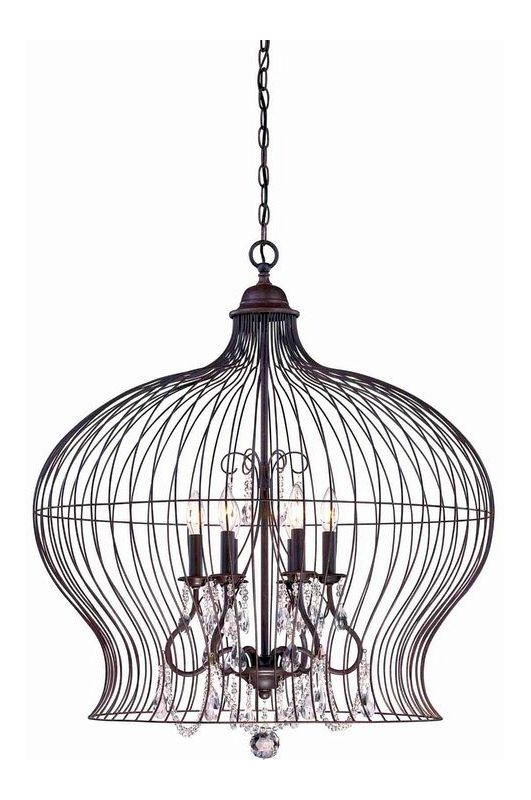 "Savoy House 7-6100-6 Abagail 6 Light 30"" Wide 1 Tier Chandelier with"
