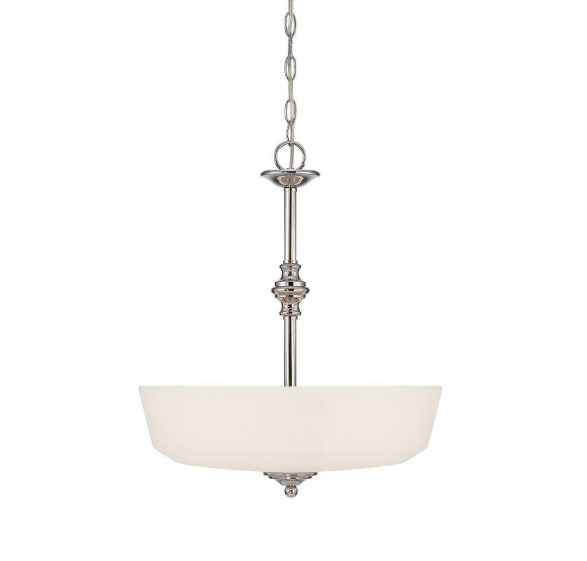 Savoy House 7-6839-3 Melrose 3 Light Pendant Polished Chrome Indoor