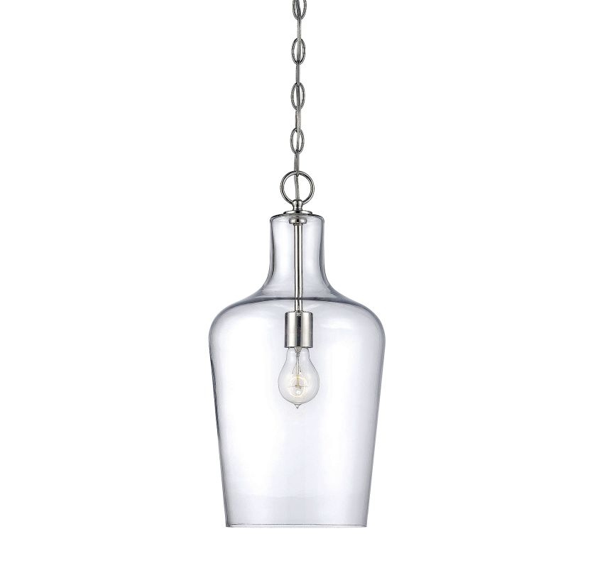 Savoy House 7-702-1 Franklin 1 Light Pendant Polished Nickel Indoor Sale $178.00 ITEM#: 2843670 MODEL# :7-702-1-109 UPC#: 822920250408 :