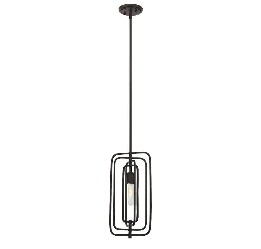 Savoy House 7-824-1 Berlin 1 Light Pendant English Bronze Indoor