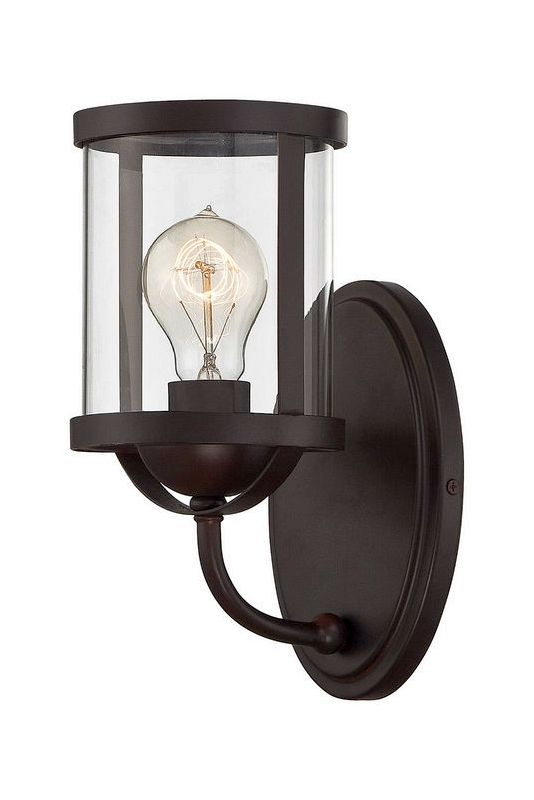 "Savoy House 8-235-1 Bergen 11"" Tall 1 Light Bathroom Sconce English"