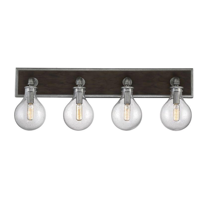 Savoy House 8-6073-4 Dansk 4 Light Bathroom Vanity Light Galvanized Sale $270.00 ITEM#: 2958019 MODEL# :8-6073-4-90 UPC#: 822920261312 :