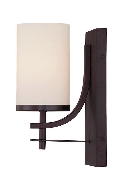 "Savoy House 9-337-1 Colton 1 Light 10"" Tall Wall Sconce English Bronze"