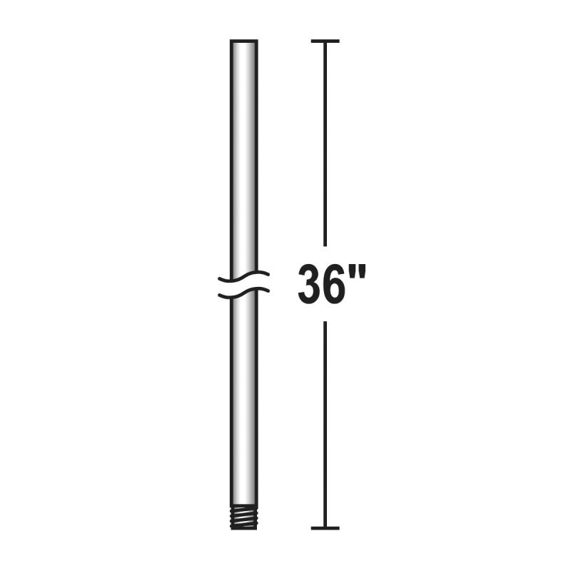 "Savoy House SH DR-12 12"" x 1/2"" Downrod for Savoy House Ceiling Fans"