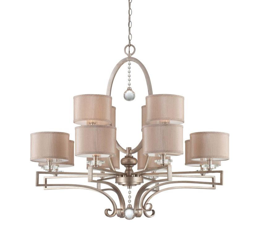 "Savoy House 1-251-12 Rosendal 12 Light 40"" Wide 2 Tier Chandelier with"